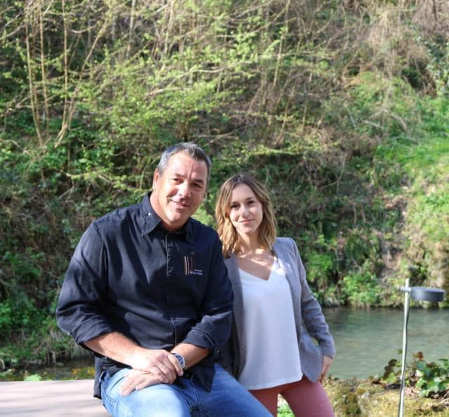 Pierre Résimont chef de l' Eau Vive interviewé par Maurane pour Trouve ton resto