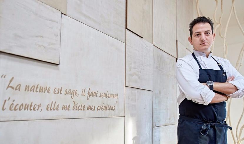 Le chef Fabrizzio Chirico du restaurant le Délice Du Jour à Gerpinnes