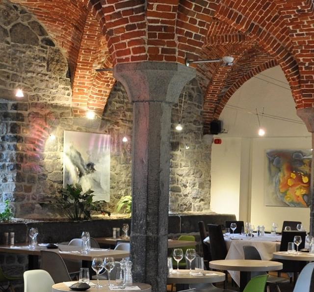 La salle de la Brasserie NH et ses somptueuses voûtes