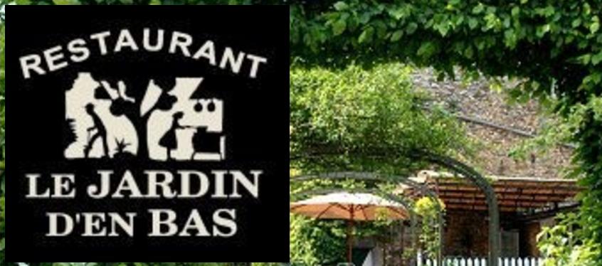 Le jardin d 39 en bas restaurant annevoie rouillon anh e for Restaurant le jardin neufchatel menus