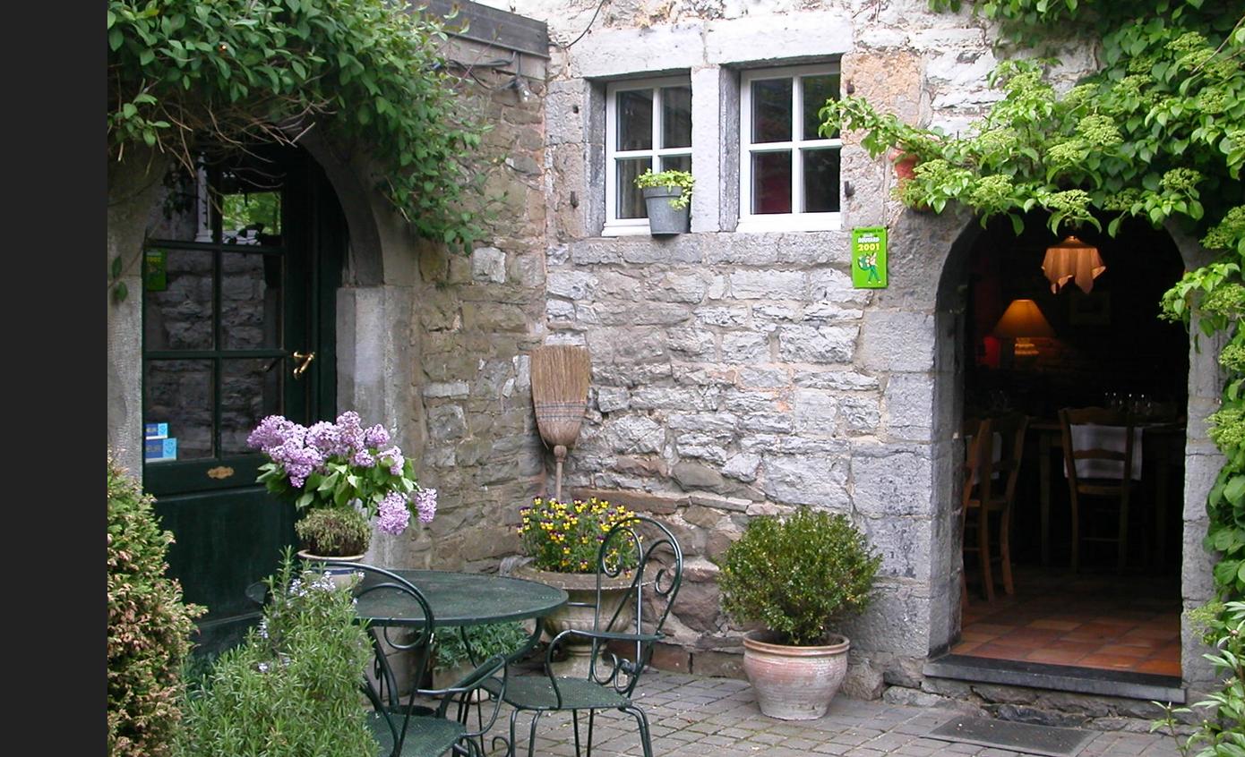 Le jardin d 39 en bas restaurant annevoie rouillon anh e for Le jardin custine